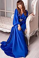 Платье вечернее.длинное , ткань котон-сатин-пояс с дорогим украшением, 3 расцветки ,фото реал аф №0557