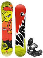 Сноуборд подростковый VOLKL JIBBY + крепление VOLKL FASTEC VISION KIDS XS 2014