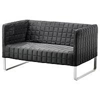 2х-местный диван икеа KNOPPARP, серый, IKEA, 802.649.64