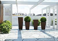 Ваза Скалео 100, мебель для бассейна, мебель для сада, мебель для сауны, вазоны, вазы, горшки