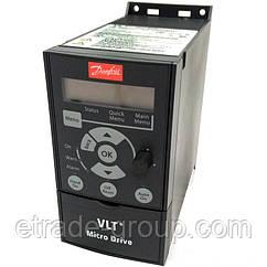 132F0005 Преобразователь частоты Micro Drive FC 51 1,5кВт 1-ф, 200-240 В