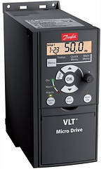 132F0001 Преобразователь частоты Micro Drive FC 51 0,18кВт 1-ф, 200-240 В