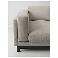 NOCKEBY Ноги для дивана-кровати 2-os. с козеткой, дерево