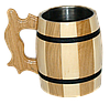 Бокал деревянный комбинированный