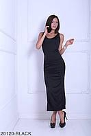 Довге чорне жіноче плаття Iveta