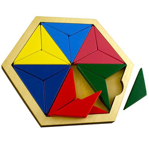 Мозаика треугольники, NATI