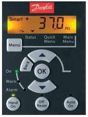 132B0100  Панель управления LCP 11 без потенциометра