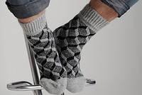 Носки из шерсти ангоры мужские