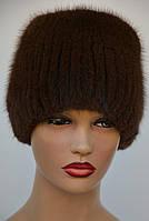 """Женская меховая шапка из ондатры """"Рюшка"""", фото 1"""