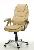 Офисное маcсажное кресло THORNET бежевое, фото 2