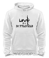 Толстовка Бателфилд Battlefield love is