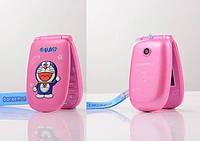 Hello Kitty F1 mini на 1 Sim раскладной телефончик для модницы хелло китти