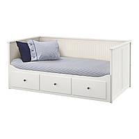 HEMNES Диван-кровать с 3 ящиками, белый