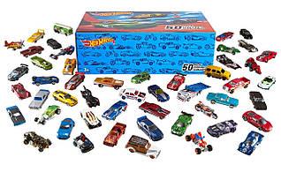 Хот вилс набор металлических машинок 50 шт Hot Wheels Basic Car 50-Pack