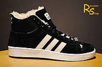 Зимние мужские кроссовки Adidas Winter Originals black