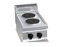 Электрическая плита с 2 конфорками, круглое (5,2 кВт) EHB473E