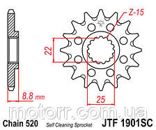 Передняя звезда JTF1901.14SC