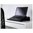 BRÄDA Подставка для ноутбука, черный 601.501.76, фото 4