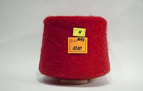 Мохер IGEA Antares col 9053,1000 м/100 г, красный вес 1040 г