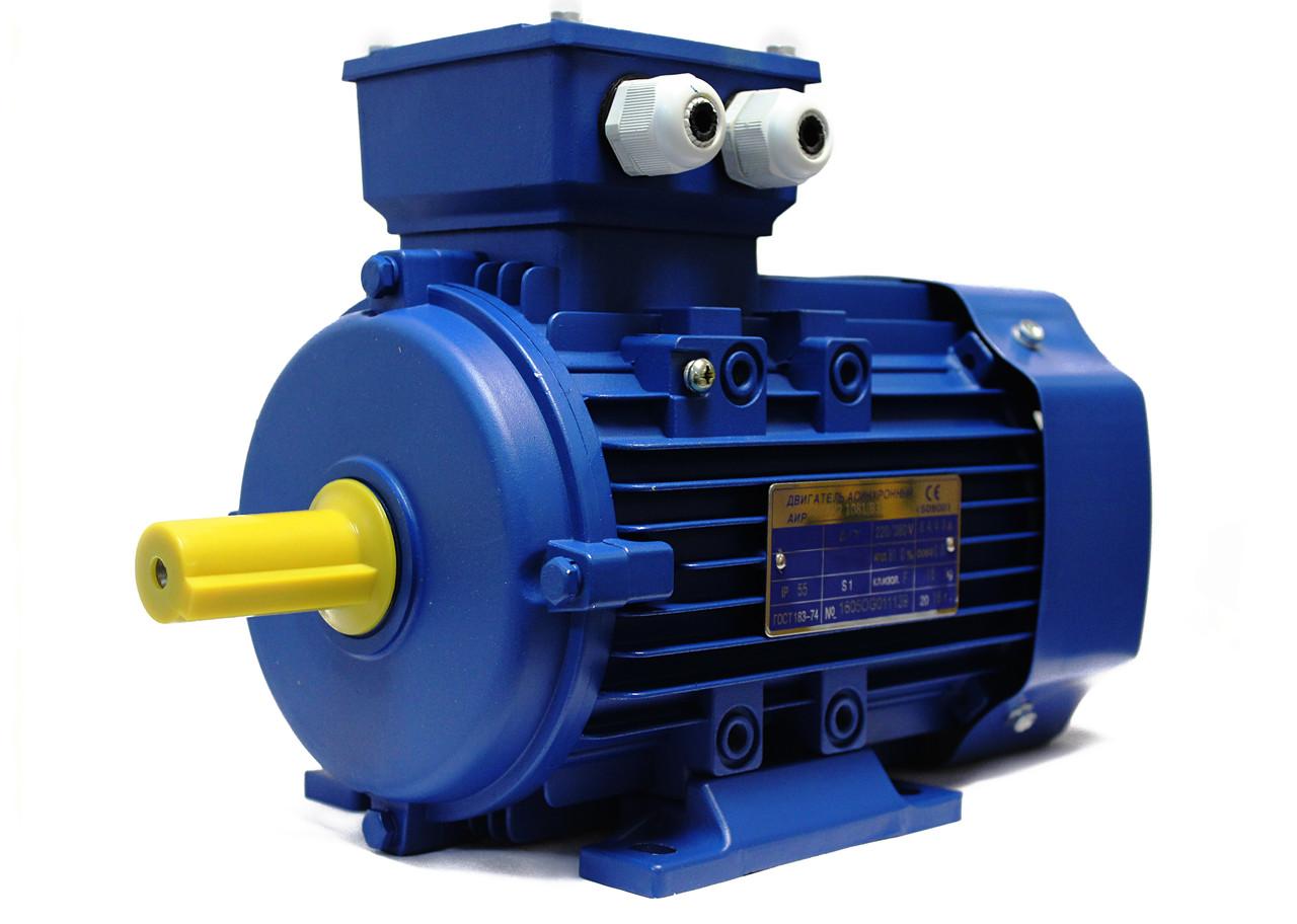 Трёхфазный электродвигатель 4АМУ 250 S2 (75,0 кВт, 3000 об/мин)
