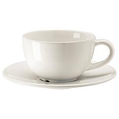 VARDAGEN Чашка/блюдце для кофе, кремовый 002.883.13