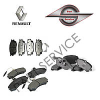 Тормозные колодки на Renault Kangoo Рено Кенго
