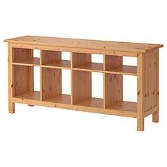 HEMNES Консольный стол, светло-коричневый