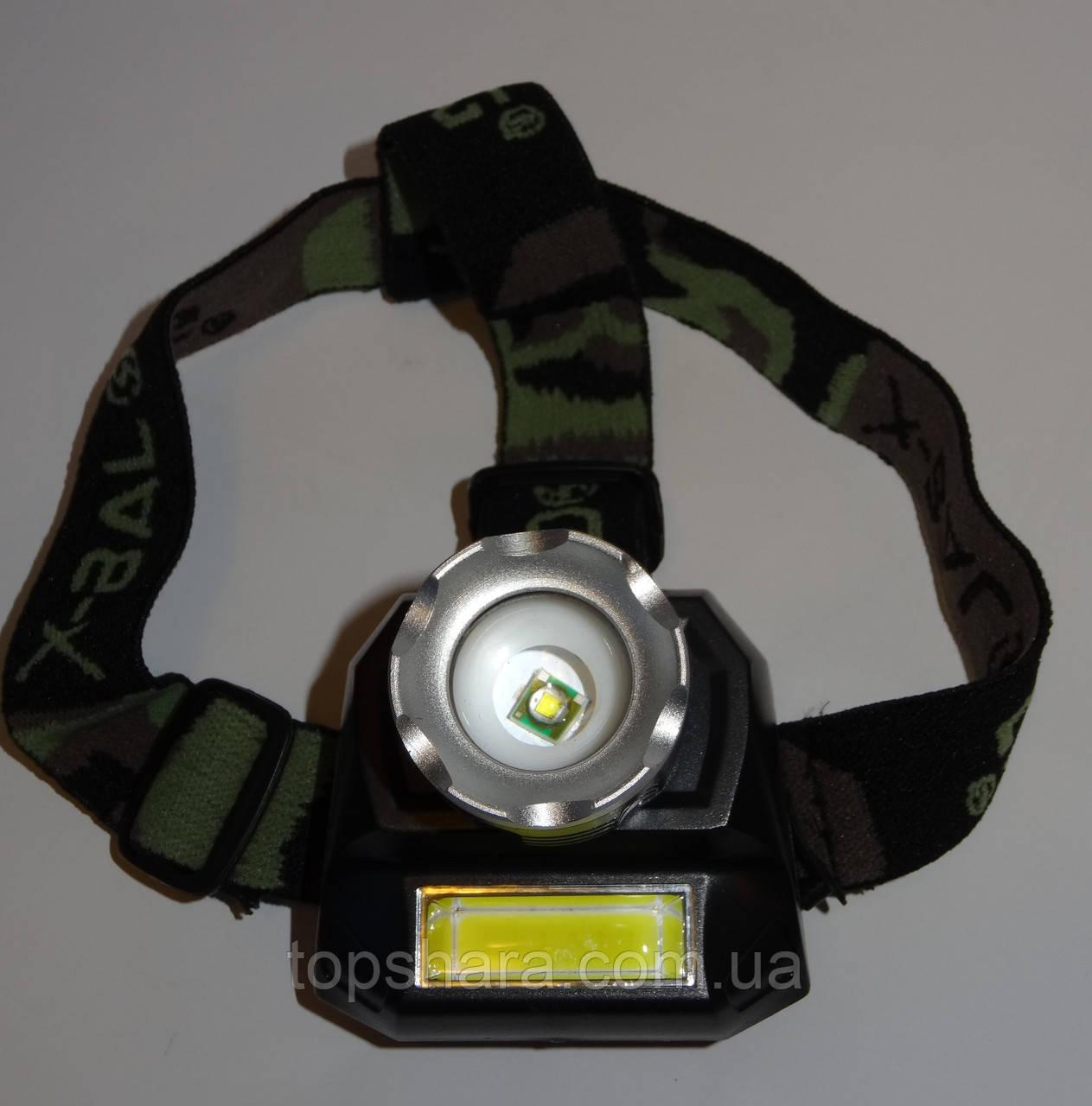 Головной фонарь Police BL-6911 XPE + led лента