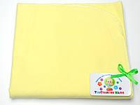 Фланелевые (байковые) пеленки (желтая)