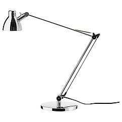 ANTIFONI Лампа рабочая, никелированный 203.047.36