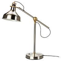 RANARP Лампа рабочая, никелированный