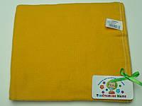 Фланелевые (байковые) пеленки (ярко-желтый)