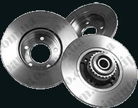 Тормозной диск Mercedes Sprinter / Volkswagen LT