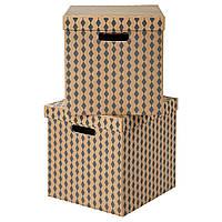 TRYCK Коробка с крышкой