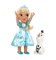 Frozen Лялька Ельза «Холодне Серце» зі сніговиком Олафом (Кукла Эльза-малышка «Холодное Сердце» с Олафом)