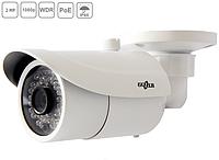 Сетевая IP видеокамера Gazer CI202a (3,6мм) цилиндрическая, 2MP, 1080p, POE, ИК 30м