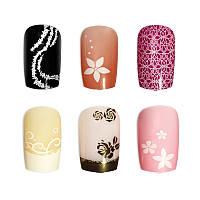 Накладные ногти Knail №A002-1 цветные