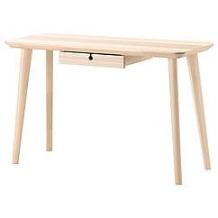 LISABO Письменный стол, ясеневый шпон 302.990.70