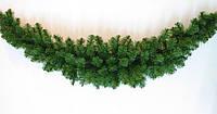 Декоративная хвойная гирлянда (ель) 260х23-33 см