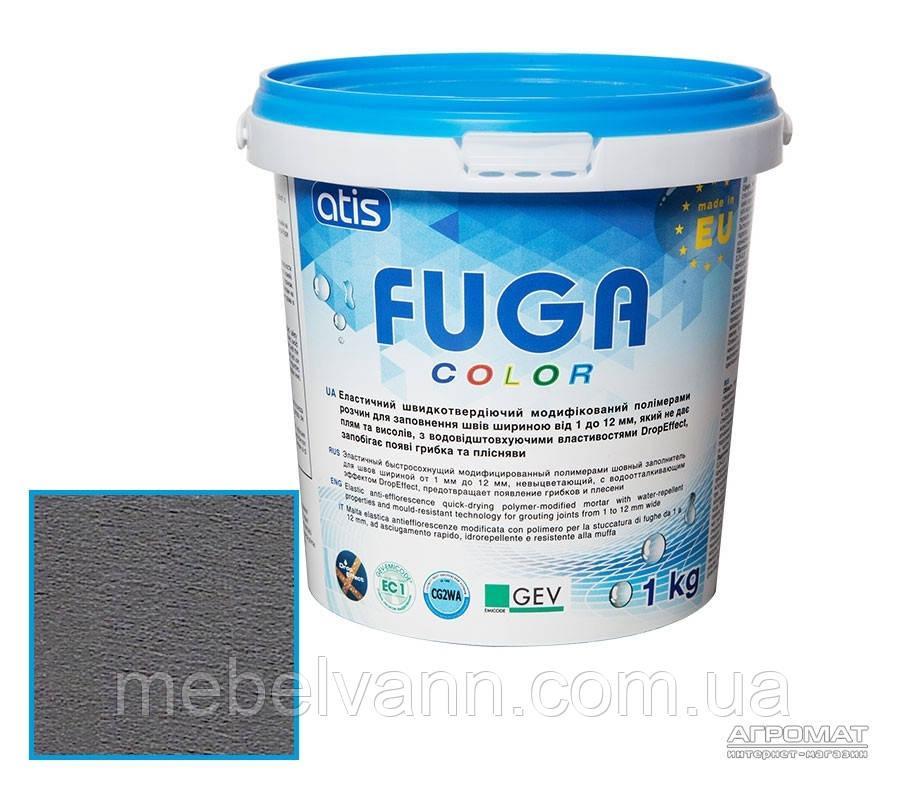 Затирка Atis fuga color A114/3кг антрацит