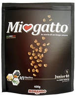 Сухой корм для котят Morando Miogatto Junior 0.1 с курицей 400 г