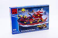 Конструктор Пожарный катер Brick 906