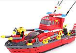 Конструктор Brick 906 Пожежний катер 340 дет, фото 3