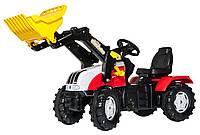 Rolly Toys Трактор с ковшом Steyr CVT 6240 красный