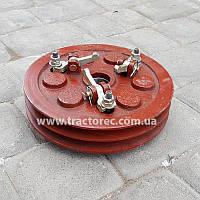 Муфта сцепления в сборе 2-х ручейковая для мотоблоков мототракторов R180,R190,R195