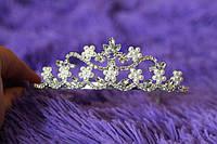 Детская корона, диадема для девочки, высота 4 см.
