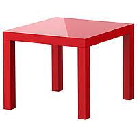 LACK Придиванный столик, глянцевый красный