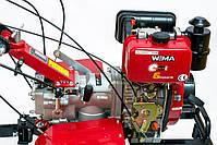 Мотоблок WEIMA (Вейма) WM1100А-6 (6 скоростей с дифференциалом), фото 2