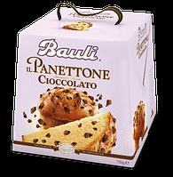Панеттон классический с кусочками шоколада Bauli Il Panettone Cioccolato, 750 г.