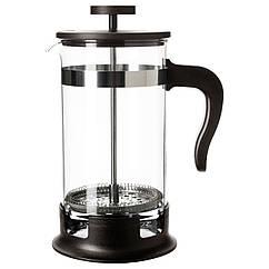 UPPHETTA Френч-прес/кофеварка/чайник, стекло, нержавеющ сталь 602.413.89